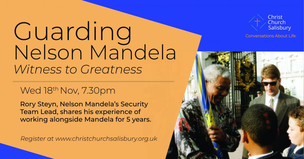 Conversations About Life - Nelson Mandela